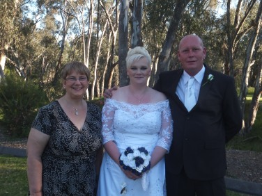 Deni and Damian at Jacksons Park on 4th October 2014